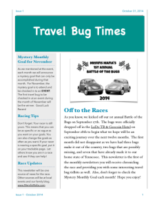 Travel Bug Times ed.1