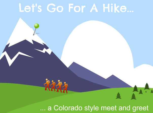 Lets go for a hike series logo